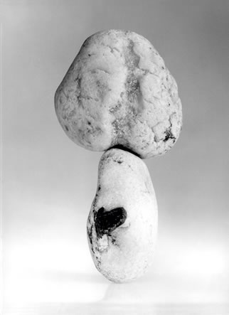 Balanced Stone Phallus with Heart